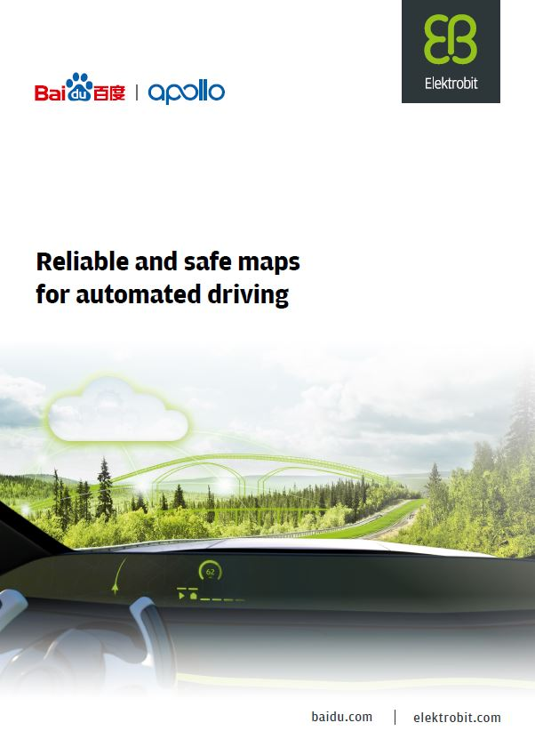Reliable and safe maps for automated driving